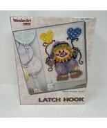 "Wonder Art Caron Sweet Dreams Clown Latch Hook Kit 20"" x 27"" - $24.74"