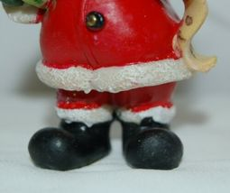 Generic 4 Different Santa Christmas Ornament Set 3 Inches image 5
