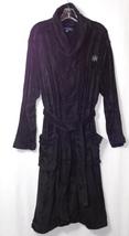 Tommy Hilfiger Men's Black Soft Cotton Robe HNY One Size Fits Most