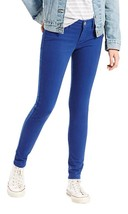 Levi's 710 Women's Premium Super Skinny Jeans Leggings Sodalite Blue 17780139