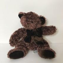 "Russ Coco Bear Plush Stuffed Animal Beanie 7"" Tall Sitting Sparkle  - $18.80"