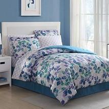 Ellison Great Value Abela 6 Piece, Twin Bed in a Bag, Blue