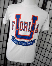 University of Florida U of F - Tappa Kegga Brew - Soffe Shirts 50/50 whi... - $18.95