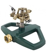 Melnor Impact Lawn Sprinkler, Metal Head And Metal Sled, Adjustable Ang... - $38.92