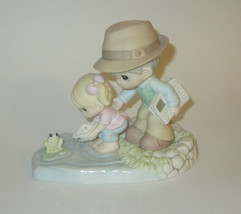 Through Your Eyes The World I See Precious Moments Figurine Dad Girl Fro... - $69.29