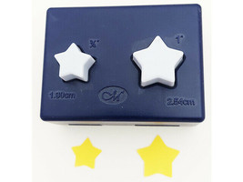 Creative Memories Mini Stars Punch Set, Two Punches in One