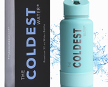 The Coldest Water Bottle Wide Mouth Stainless Steel (Oceanic Mint 32oz)