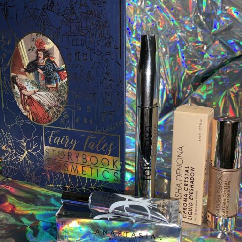Storybook Cosmetics Once Upon A Time & Denona Chroma Crystal & ABH Primer NIB