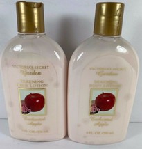 Lot of two Victorias Secret Garden Silkening Body Lotion Enchanted Apple... - $32.66
