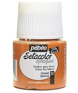 Pebeo Setacolor Opaque Fabric Paint (Sienna) 2 pcs sku# 1849394MA - $29.91