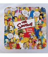 The Simpsons Trivia Game Original 2000 Version Card Party Fun Fox Cardin... - $14.61