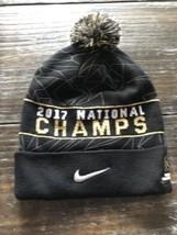 Nike Alabama Roll Tide NCAA Championship Pom-Pom Knit Beanie OSFM Hat NWT!! - $15.84