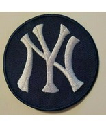 """New York Yankees NY Embroidered PATCH~3 1/2""""~Navy~Iron On~MLB~FREE US Mail - $4.95"""