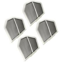 4-Pack HQRP Dryer Lint Screen Filter Catcher for Whirlpool W10120998VP W... - $41.45