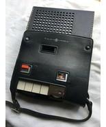 Vintage Ge Portatile Lettore Cassette/Registratore e Custodia con Microfono - $48.99