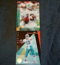 Dan Marino # 13 Miami Dolphins QB Football Trading Cards AA-19FTC3003 Vintage Co image 9