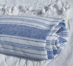 Peshtamal Peshtemal Pestemal Fouta Sarong Kikoy Towels for Beach - Dark Blue - $16.82