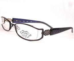 Phoebe Couture 215 Black women eyeglasses Eyewear 49-18-130 Frames New Designer - $21.67
