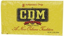 CDM Coffee and Chicory, Regular Grind, 13-Ounce Bricks Automatic Drip Pa... - $27.18