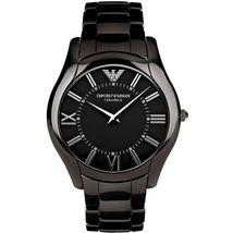 Emporio Armani AR1440 Black Ceramica Super Slim Chronograph Watch - $174.99