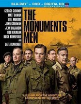 The Monuments Men (Blu-ray + DVD 2014)