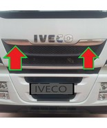 IVECO STRALIS  CHROME FRONT GRILL - STAINLESS STEEL - 2 Pcs. - $108.34