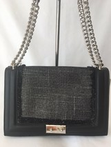 Nine West Inaya Small Shoulder Bag Black/Silver - $20.99