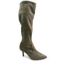 Vince Camuto Womans Ashlina High Heel Knee High Boot Brown Side Zip Sz 7... - $41.55