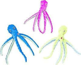 Ethical Pets Skinneeez Extreme Stuffingless Durable Squeaker Octopus Dog And - $16.68