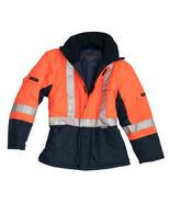 Hepworth's Hi-Vis Freezer Jacket C-J2 Orange ANSI Class III  - $64.99