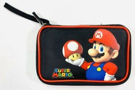 Super Mario Nintendo 3DS Travel Protection Zipper Case-EUC - $12.18