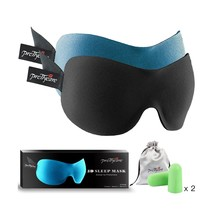 3D Sleep Mask (New Design by PrettyCare with 2 Pack) Eye Mask for Sleepi... - €22,38 EUR