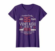 Brother Shirts - Vintage Legends Born In JULY 1993 Aged 25 Years Old Being Wowen image 4
