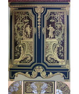 BAROQUE Cabinetwork & Marquetry by Boulle - A. RACINET Color Litho Print - $25.20