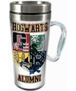 Harry Potter Hogwarts Alumni with Logo 16 oz Acrylic Travel Mug NEW UNUSED - $13.54