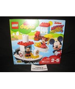 Lego Duplo Disney Junior Mickey and the Roadster Racers Mickey's Boat 10... - $37.03