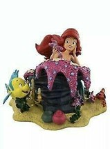 Figurine Disney Parks Ariel and Friends Resin Statue New with Box - $287.09