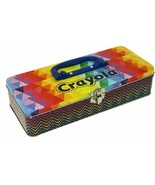 Storage Tin w/Handle Hold Crayola Crayons Not Included by The Tin Box Co... - $18.99