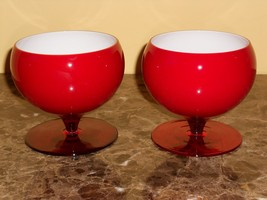 Murano Nason Moretti Bruges Glass Bowl- Very Hard to Find- Set of 2 - $99.00