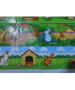 JIGSAW PUZZLE LOT OF 8 ANIMALS & THEIR BABIES - $15.99