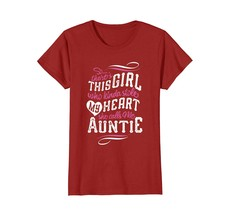 Funny Shirts - Girl Who Kinda Stole My Heart She Calls Me Auntie T Shirt... - $19.95