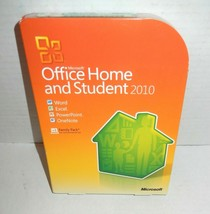 Microsoft 2010 Office Home and Student for 3 PC's Word Excel Powerpoint OneNote - $34.99