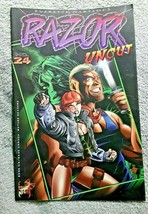 Razor Uncut London Knight Comics Issue #24 1996 - $1.80