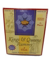 Kings Queens Rummyn 4 Decks 2009 Marina Games out of print 216 Cards - $21.55