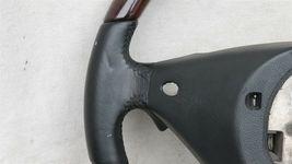 03-06 Porsche Cayenne 955 Wood/ Blk Leather 3 Spoke Steering Wheel 7L5419091 image 9