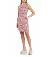Tommy Bahama Bimini Ikat Cowl Neck Dress Amaranth Pink Size Large L - New - £27.16 GBP