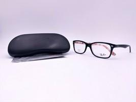 Ray-Ban Unisex Shiny Black/Logo Glasses with Case RB 5228 5014 50mm - $139.99