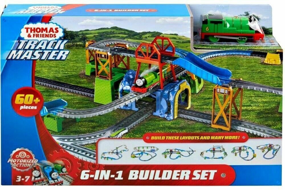 Thomas & Friends TrackMaster Percy 6-in-1 Motorized Engine Set NEW - $71.23