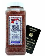 Bolner's Fiesta Venison and Other Game Meat Sausage Seasoning Plus Recip... - $60.67