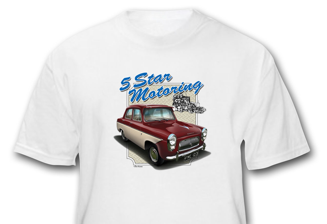 ROVER P5B COUPE CAR ART T-SHIRT PERSONALISE IT!